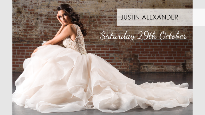 Justin Alexander Spring and Summer at Eternally Yours Bridal Wear