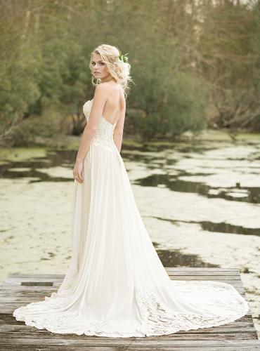 Boho Wedding Dress Nottingham : Lillian west boho chic wedding gowns vintage